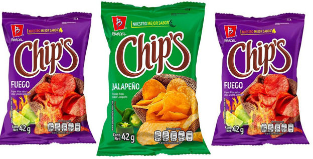 Chips Jalapeño y Fuego